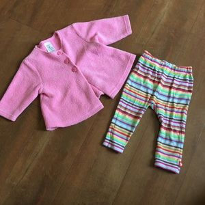 •5 FOR $25• Fleece Top and Leggings Outfit